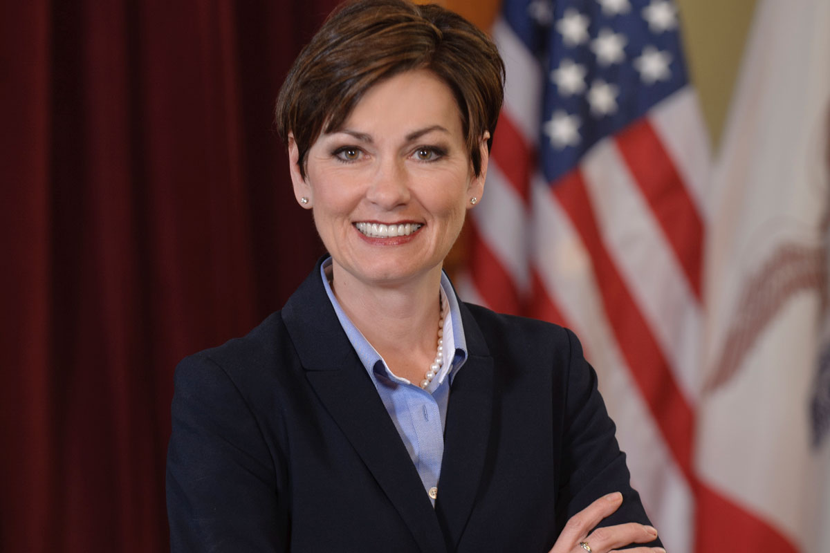 Governor Reynolds States Restores Voting Rights to Felons